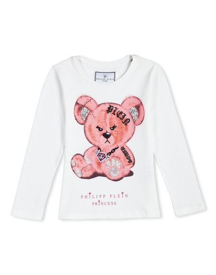T-shirt Round Neck LS Funny Teds