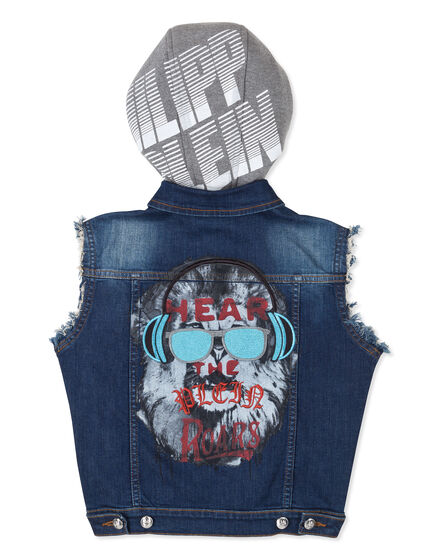 "Denim vest ""Kindom King"""