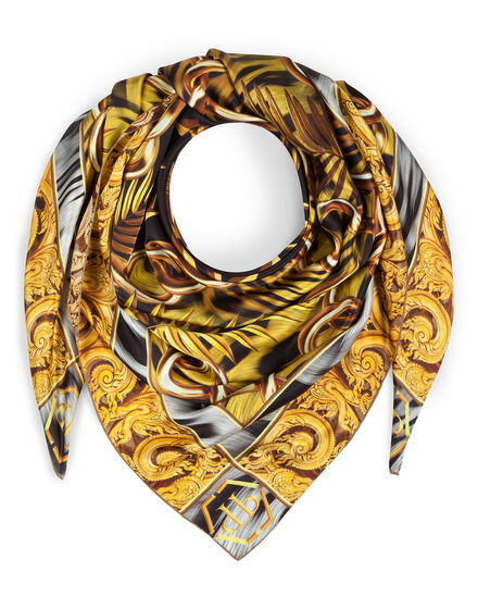 "Square Scarf ""Lion"""