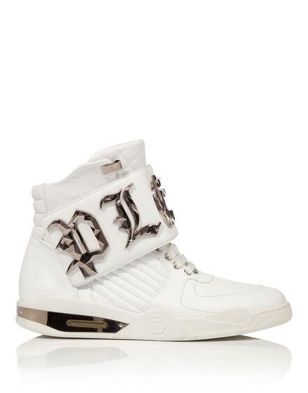 """Hi-Top Sneakers """"Bye"""""""