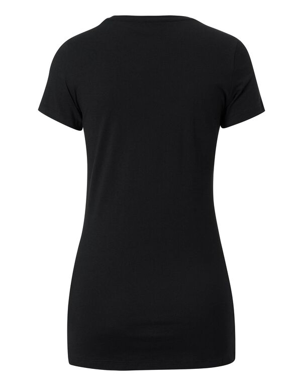 "PHILIPP PLEIN T-Shirt ""Love Me"" in Black"