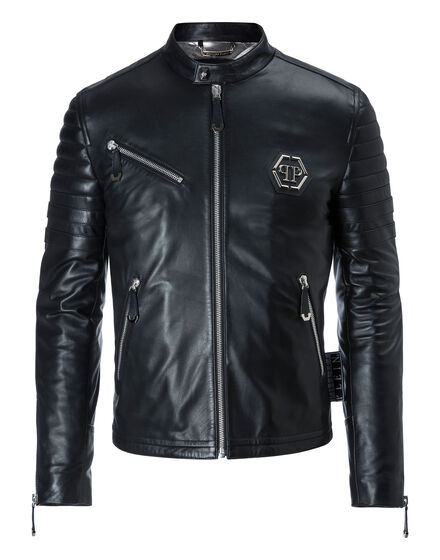 Leather Moto Jacket The one