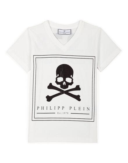 T-shirt Round Neck SS Last Skull