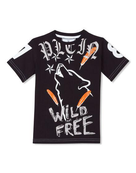 T-shirt Round Neck SS Deep Wolf