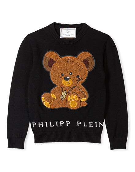 Pullover Round Neck LS Sweet Teddy