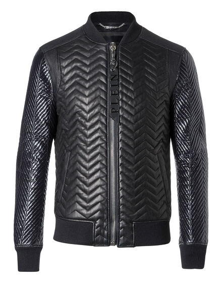 Leather Bomber Nobufusa