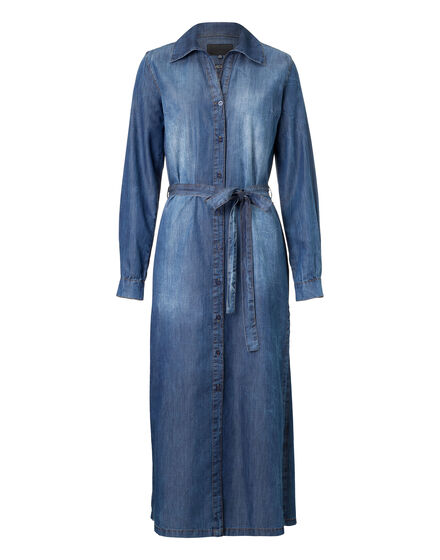 Denim Shirt Dress Helga