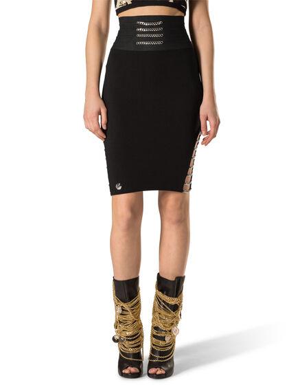 "Short Skirt ""Muticolour Chains"""