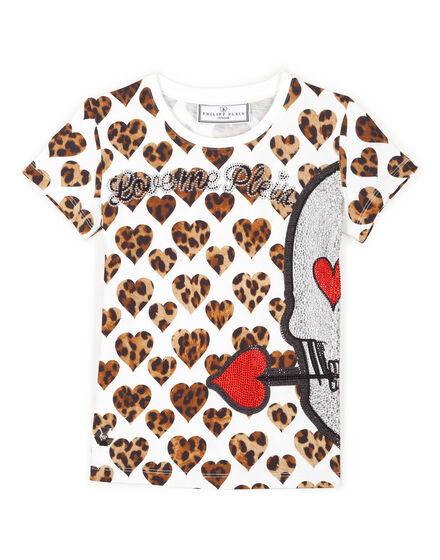 T-shirt Round Neck SS Honey Face
