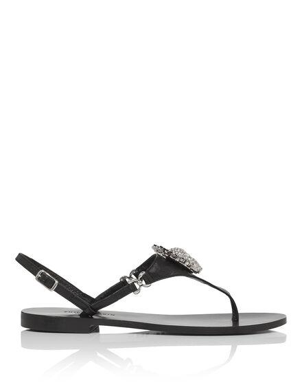"Sandals Flat  ""Cauvigny"""