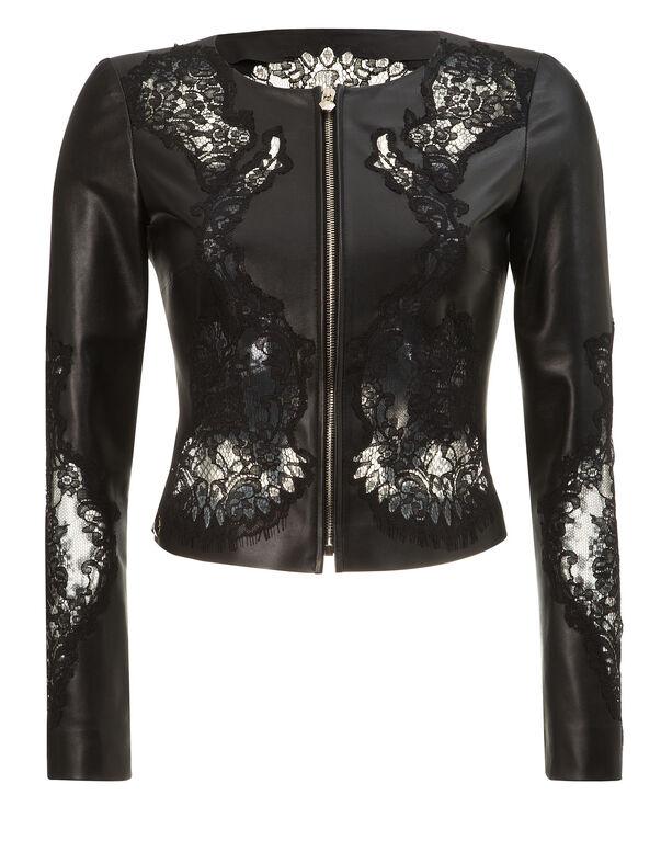 """leather jacket """"fairytale"""""""