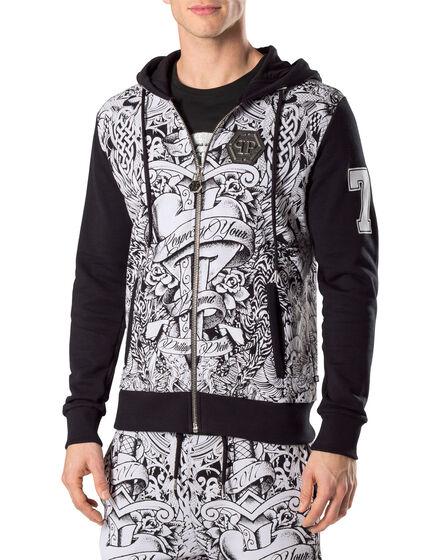 """Hoodie sweatshirt """"Plum"""""""