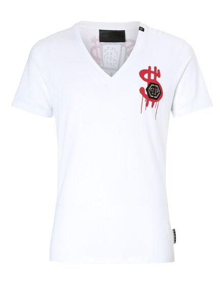 T-shirt V-Neck SS Bis Monopoli