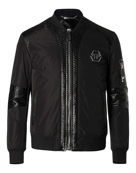 Leather Bomber Piton