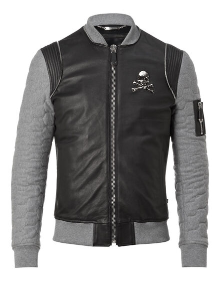 "Leather Bomber ""Tribal"""
