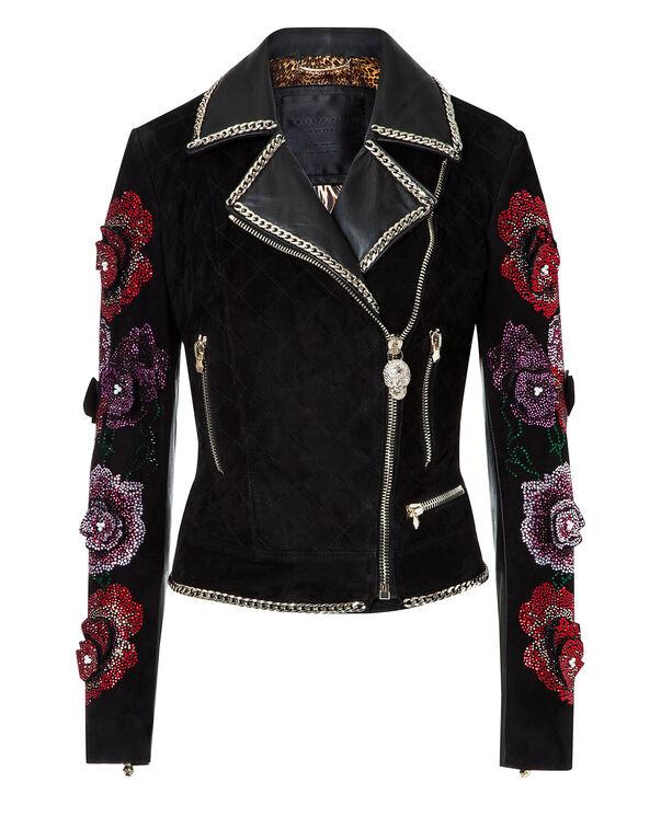 "Leather Jacket ""Avion"""