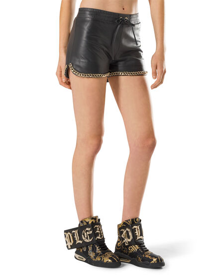 "Leather Shorts ""Karin"""