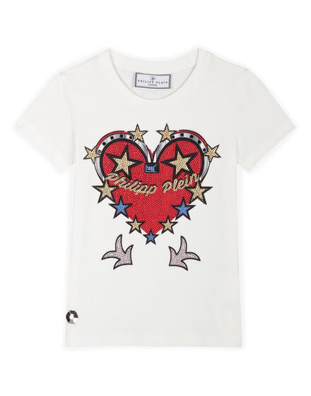 T-shirt Round Neck SS Honey Lips