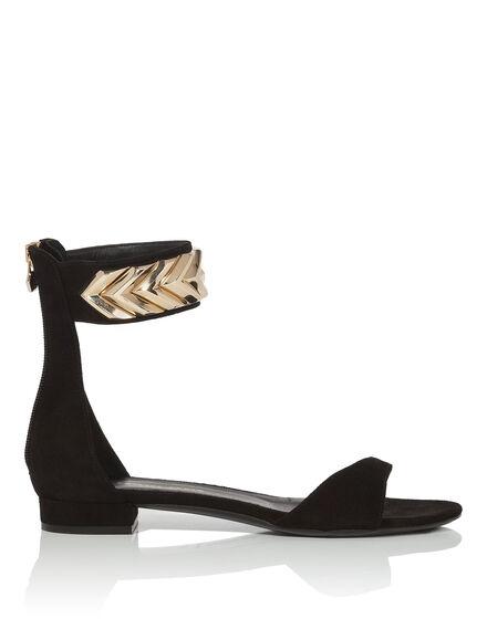 "Sandals Flat ""Menton"""