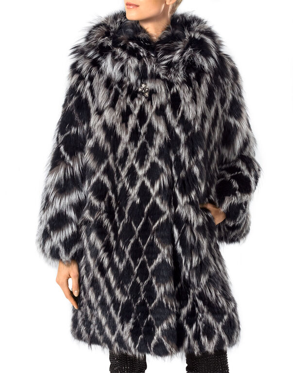 "fur coat ""stella"""
