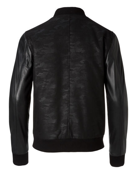 "Bomber ""Black camou"""