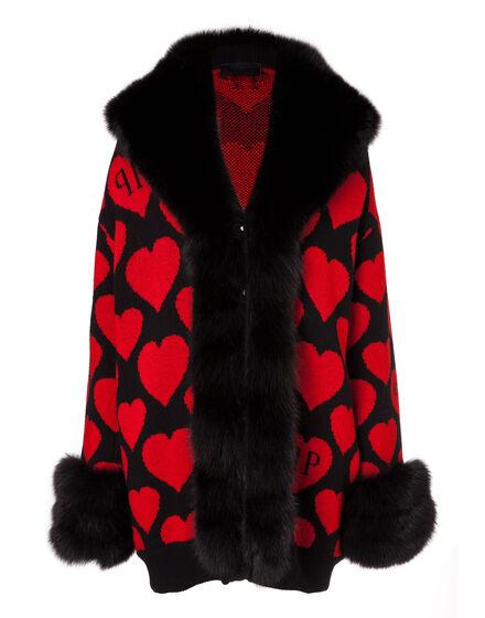 Knit Coat Horned Adder