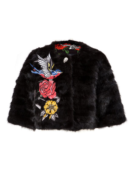 "Fur Cape ""Annetta North"""
