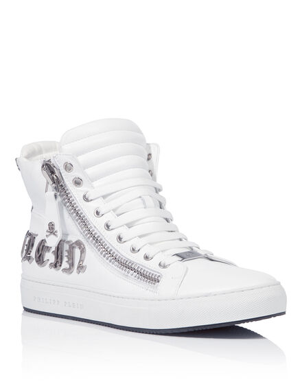 "Hi-Top Sneakers ""Blacky"""