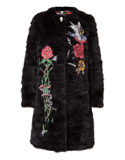 "Fur Coat Long ""Angus"""