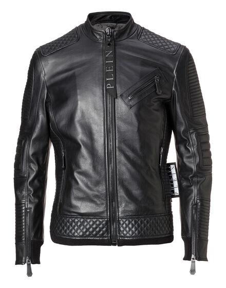 Leather Moto Jacket Odell