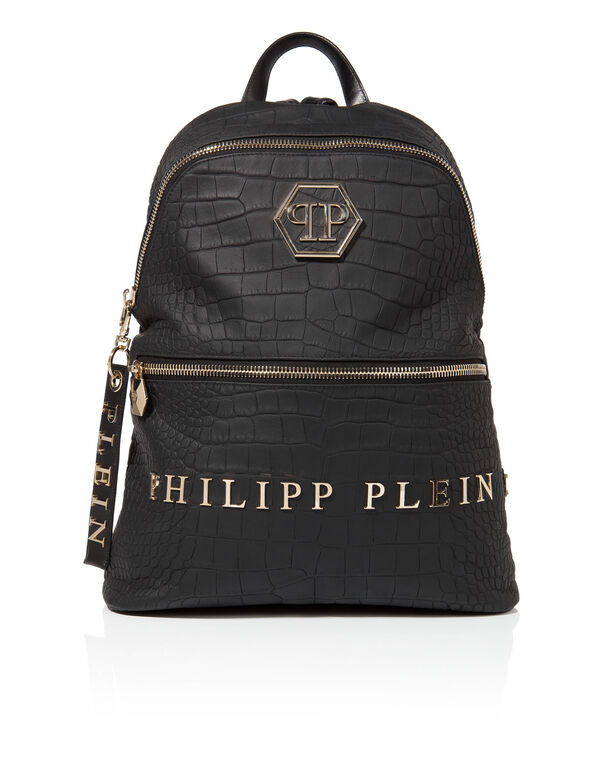 """croco leather backpack """"jumpers"""""""