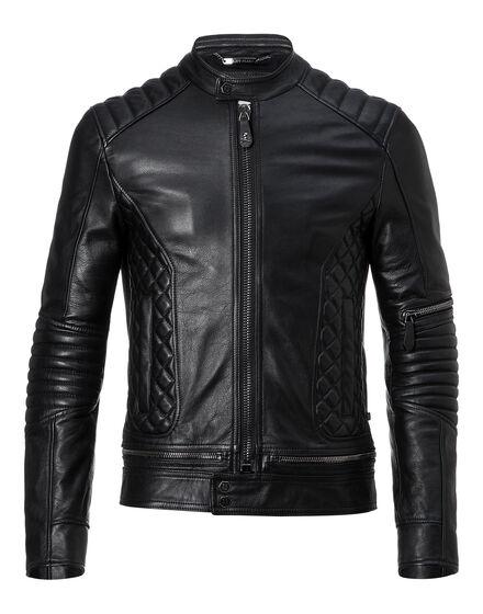 """Leather Biker """"Tiger"""""""