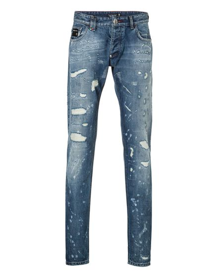 Straight Cut Shot denim