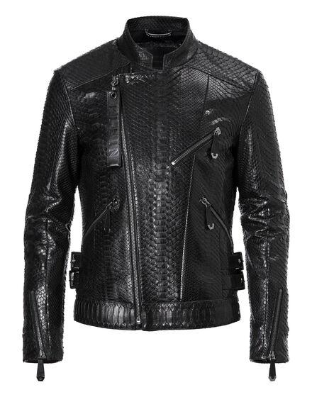 Leather Biker Pyton