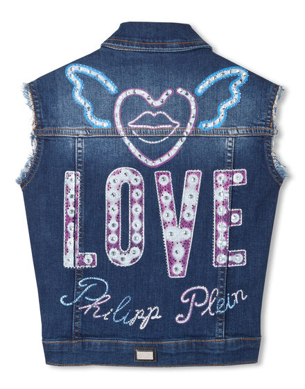 "Denim vest ""Francy"""