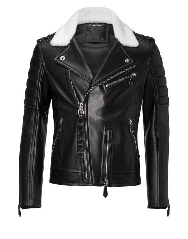 """leather jacket """"old taste"""""""