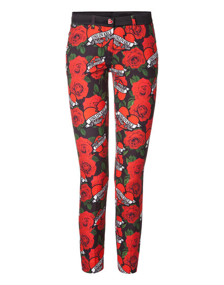 "Capri Trousers ""Unlove Rose"""