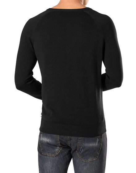 """Pullover V-Neck LS """"Original"""""""