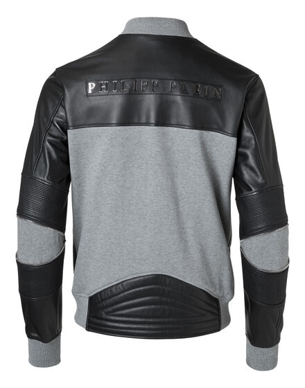 "Leather Bomber ""Mei"""