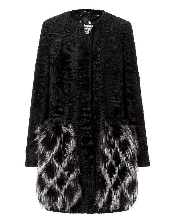 """fur coat """"zaz"""""""