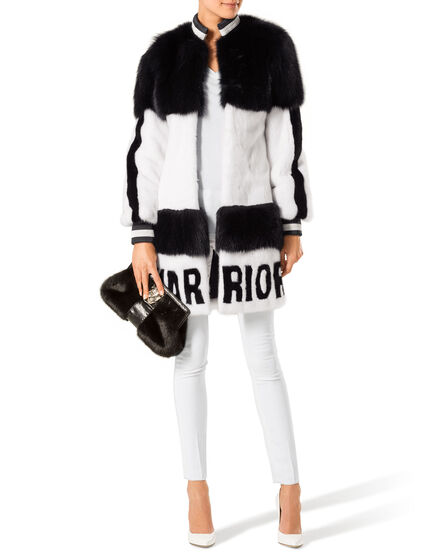 "fur coat ""warrior"""