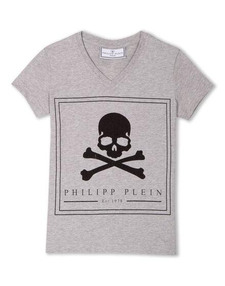 """T-shirt Round Neck SS """"Last Skull"""""""