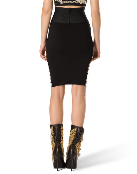 "Short Skirt ""Muticolour Chains"""