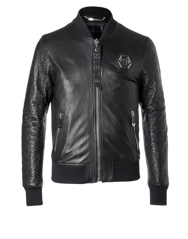 "Leather Bomber ""Sensei"""