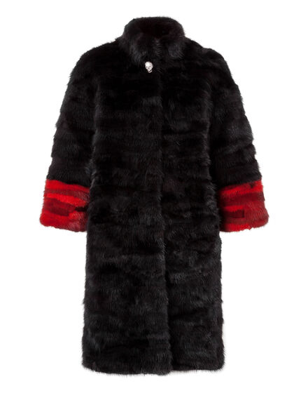 "Fur Coat Long ""Anderson Mill"""