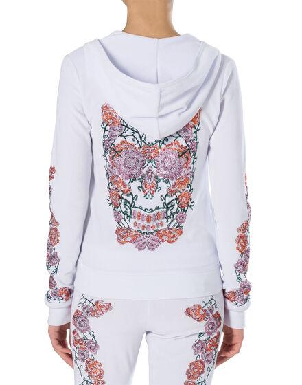 """Hoodie Sweatjacket """"Indian Pink"""""""