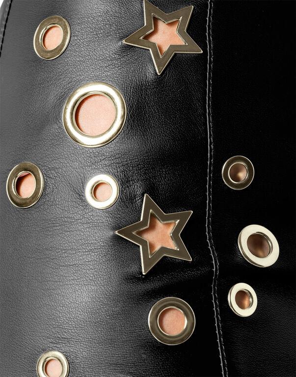 """Leather Skirt Short """"Amber"""""""