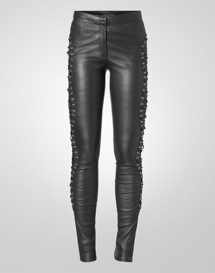 "leather trousers ""ludmilla"""