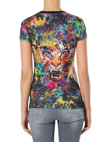 "T-shirt Round Neck SS ""Sharon"""