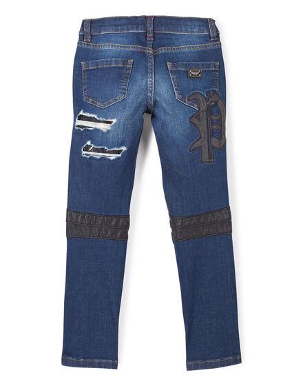 "Denim Trousers ""Blue King"""